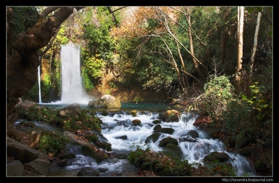 Israel. Banias and The Nimrod Fortress