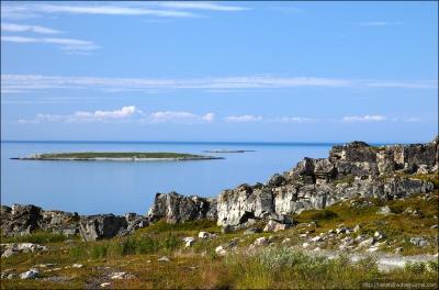Murmansk Region. Rybachy Peninsula.