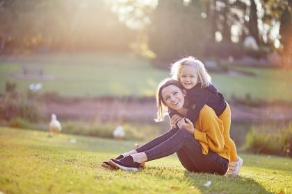 Family photo shoot at  Fagan Park  in Hornsby.  Sydney Region.